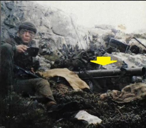 guerra de MALVINAS CARV GUSTAV MONTE LONGDON 1982