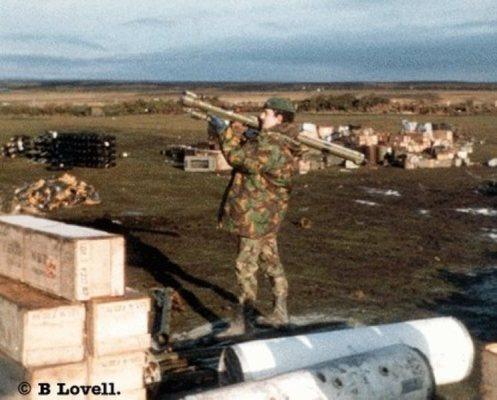 sa-7 strela guerra de Malvinas f