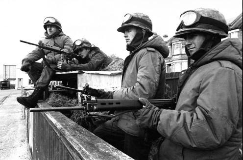 Armas utilizadas por Argentina en las Malvinas