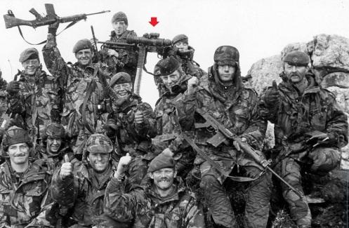 tropas británicas 1982-