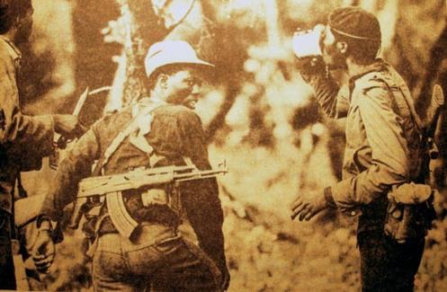 guérilléros du ZANLA (Zimbabwe African National Liberation Army) Zanla