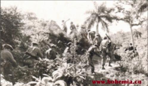 Cuba 1960-Rompiendo monte