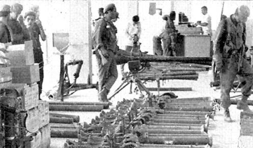 ARMAS CAPTURADAS BAHIA DE COCHINOS-PLAYA GIRON