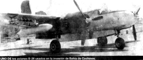 B-26 BAHIA DE COCHINOS