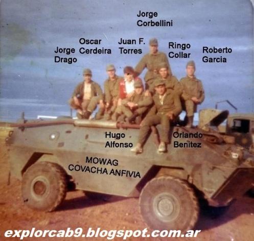 conflicto del beagle soldados argentinos 1978.d