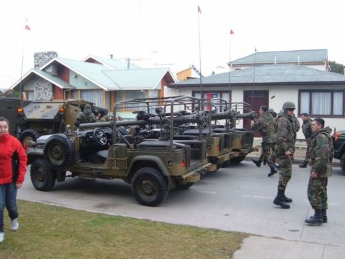 ejército de Chile M40 106mm