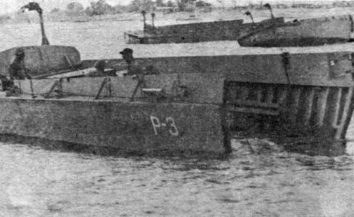 lanchones de desembarco Brigada 2506