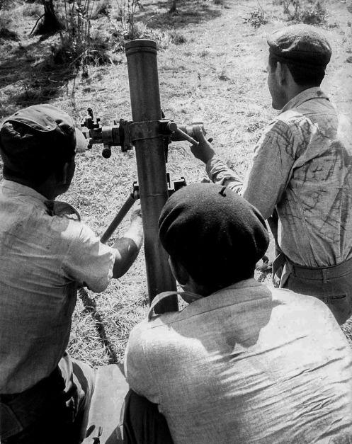 mortero 82mm cuba milicia