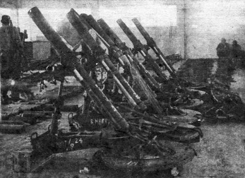 mortars GIRON 1961