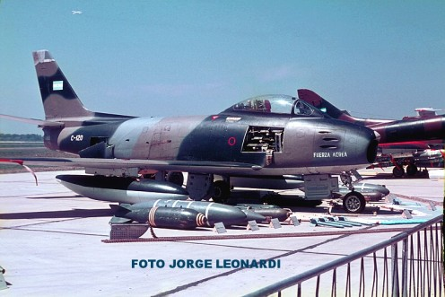5.N.A.F-86F Sabre C-120