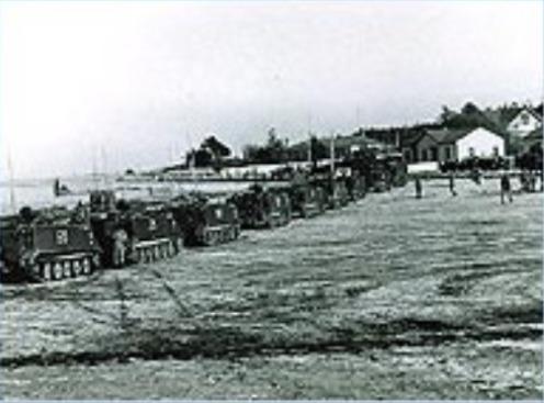 BLINDADOS DE CHILE M113 1978