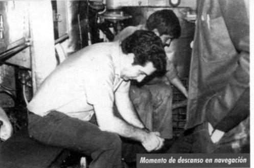 descanso submarino argentino 1978.