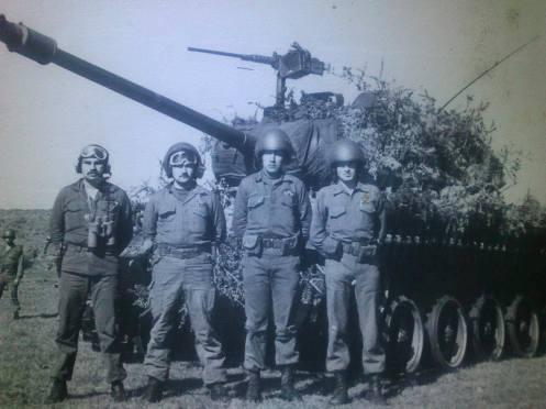 inedita 1978 tanquistas chilenos -conflicto del Beagle 1978