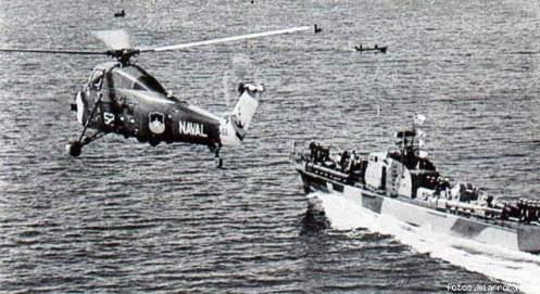 Sikorsky con torpedera Base Naval