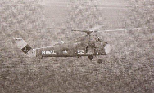 Sikorsky en Base naval