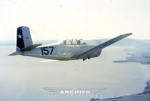 T-34A 157 IF Lago Llanquihue oct1963 002b1