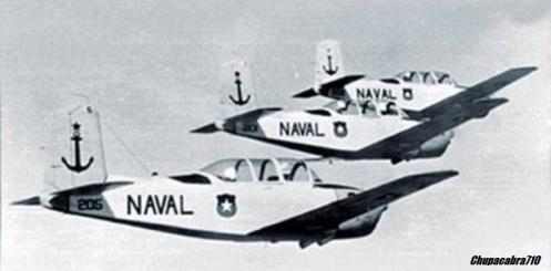 T34 MENTOR armada de Chile
