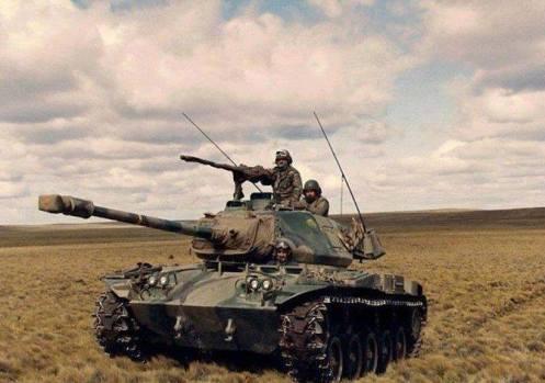 tanques M-41 de Chile -Valle de chabunco(1)