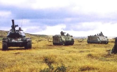 tanques M-41 de Chile -Valle de chabunco(2)
