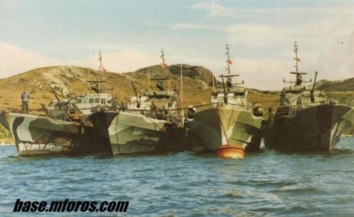 torpederas chilenas