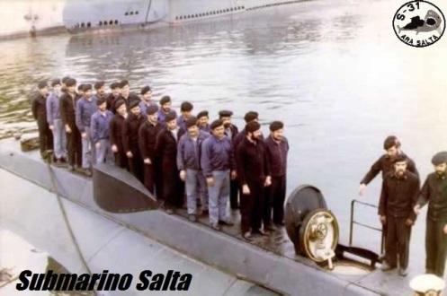 tripulantes del submarino salta 1975. D