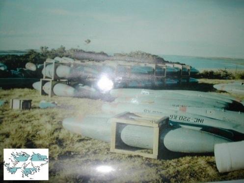 Bombas en la guerra de malvinas 52434770r