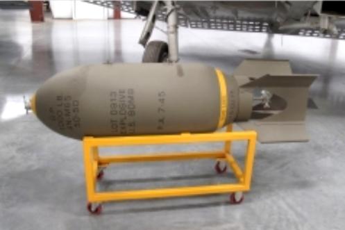 Bombas en la guerra de malvinas An-m65