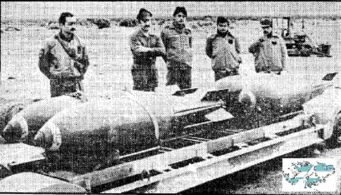 Bombas en la guerra de malvinas Bomba-mk-17