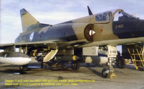 Bombas en la guerra de malvinas 4