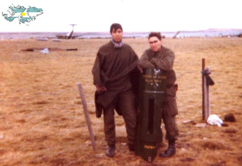 Bombas en la guerra de malvinas Bomba-racimo