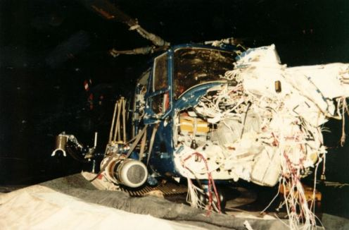 Bombas en la guerra de malvinas Damage6