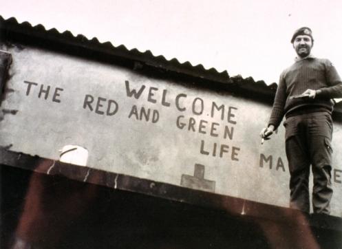 el rojo y el verde maquina de la vida.