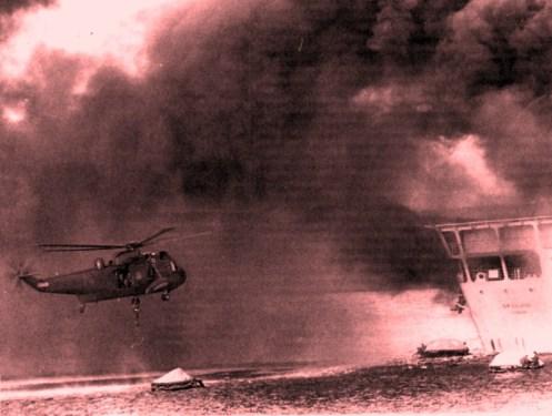 Bombas en la guerra de malvinas Fotosmalvinassir-galahad