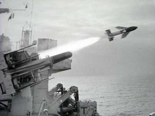 HMS_Intrepid_Secat_AntiAircraft_Missile_1982