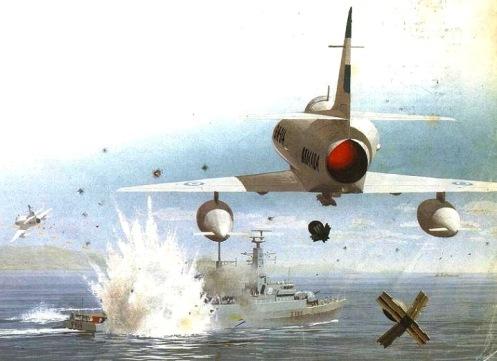Bombas en la guerra de malvinas Hmsardent-mk82
