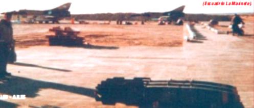Bombas en la guerra de malvinas Mk-82-snakeye