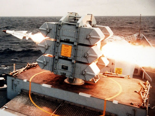 Royal Navy-Sea Wolf missile