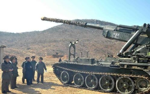 M-1978 (KOKSAN) is a 170 mm self-propelled (SP) gun of North Korean design  (1)