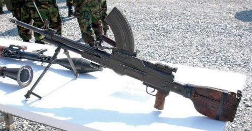 Resultado de imagen para ametralladora tipo 73 norcoreana