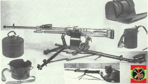 ametralladora ALFA 44 MMd