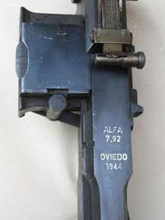 Ametralladora ALFA44 oviedo