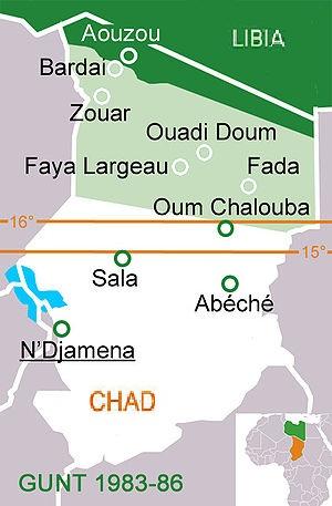 bases chad Libia