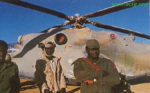 batalla en CHAD mi 25 libio g