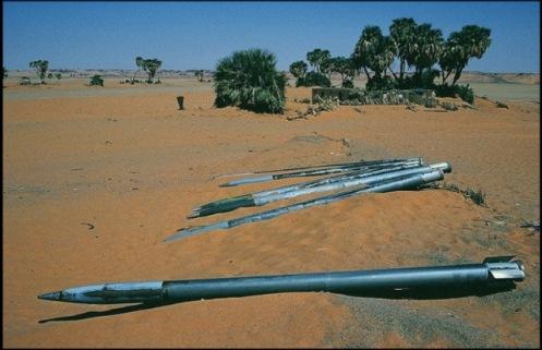 BM-21 cohetes CHAD