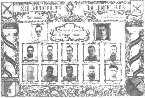 caidos en la guerra de ifni 1957-1958.