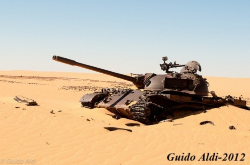Chad tanque libio
