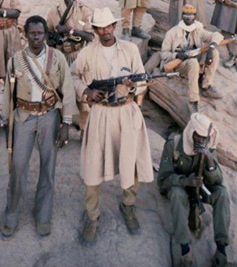 combatientes chadianos, guerra de los toyota 1986-1987.