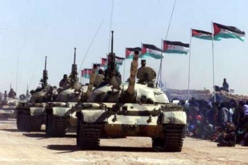 frente polisario t-55