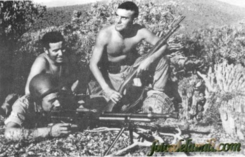 fusil ametrallador fao guerra de ifni