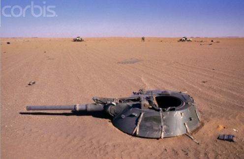 guerra de los Toyota 1986-1987. tanque